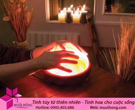 Đèn massage chân