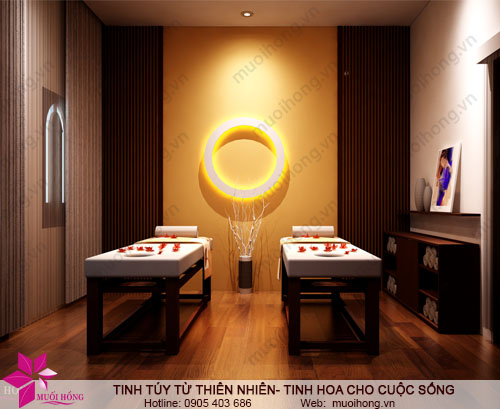 muoi hong spa- phong massage